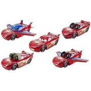 Set Masinuta Cars Design & Drive Big Car Lightning McQueen with Accessories