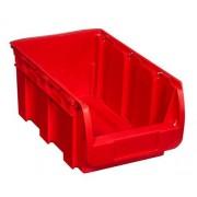 Allit Kunststoffbox compact, 210 x 350 x 150 mm, rot
