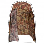 vidaXL Палатка за душ/WC/преобличане, камуфлажна