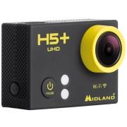 MIDLAND H5 Plus 4k Ultra HD Action Camera Black One Size