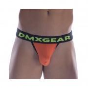 DMXGEAR Anatomic Fit Luxury Cotton Sport Brief Underwear Orange DMX18AF05