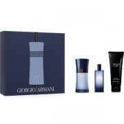 Armani Code Colonia Комплект (EDT 50ml + EDT 15ml + SG 75ml) за Mъже