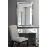 My-Furniture Miroir mural rectangulaire FLOW