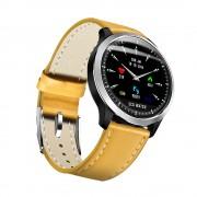 MISSYOU N58 1.22 inch Smart Bracelet Bluetooth Wristband IP67 Waterproof Heart Rate Monitor Fitness Tracker - Yellow