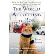 The World According to Bob: The Further Adventures of One Man and His Streetwise Cat, Paperback/James Bowen