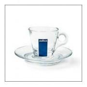 Lavazza ceasca espresso sticla (set 12 buc)