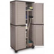 FIELDMANN FDD 1005B Designer-Kunststoffschrank mit vier Regalen