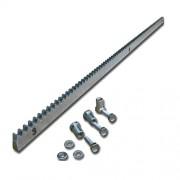 Cremaliera metalica zincata Motorline CRM4 30x12x1000 pentru porti culisante de pana la 2000Kg, uz intensiv