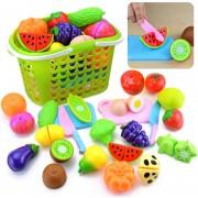 23Pcs Juguete De Corte 360DSC 8001 - Multicolor
