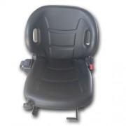 M0118 komfortos targonca ülés biztonsági övvel, üléskapcsolóval