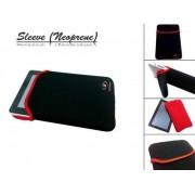 Neoprene Sleeve, Beschermhoes voor uw Hip Street Aurora 7 Inch, Zwart, merk i12Cover