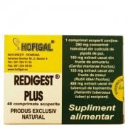 HOFIGAL REDIGEST PLUS 40 comprimate acoperite