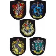 Cinereplicas Harry Potter - House Crests Patches 5-Pack