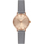 Frederic Graff Shispare Lychee Grey Leather Strap Watch FCG-B032R