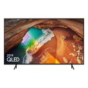Televizor QLED Samsung QE49Q60RAT, 123 cm, 4K UHD, PQI 2400, Dolby Digital Plus (20W), Tehnologie AI, Procesor Quantum 4K, Smart TV, Mod jocuri, Wi-Fi, Bluetooth de energie scazuta, CI+, Clasa energetica A, Negru carbune