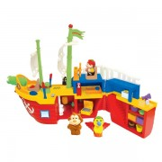 Barca Piratilor Cu Sunete Lumini Si Activitati Kiddieland