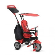 Smart Trike Glow 4 in 1 Tricycle (Red)