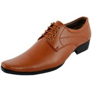 CALLAS Formal lace up shoes for office/party wear for men Color-Tan Size6