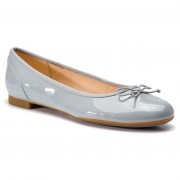 Балеринки CLARKS - Couture Bloom 261392924 Grey/Blue