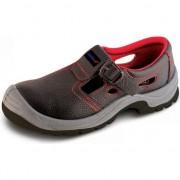 Sandale de protectie D1, din piele, marime: 45, cat.S1 SRC