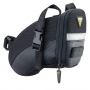 Topeak Strap Aero - Satteltaschen - Gr. S - schwarz / black - Werkzeugtaschen