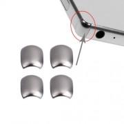 4 PCS iPartsBuy for Sony Xperia Z5 Premium Front Bezel Edge(Silver)