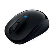 Microsoft Sculpt Mobile Mouse - Radio Frequency - USB 2.0 - BlueTrack - 3 Button(s) - Black