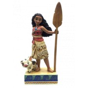 Jim Shore Find Your Own Way (Moana Figurine)
