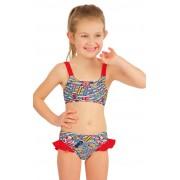 LITEX Dívčí plavky kalhotky bokové 57531 128