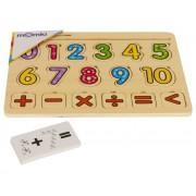 Puzzle mozaic - Invatam sa numaram, 17 piese