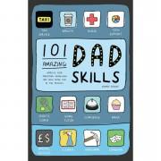 101 Amazing Dad Skills Hardback Book