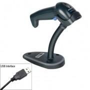 Lettore Barcode Datalogic Scanning QuickScan Laser D2330 Nero + stand + cavo USB (QD2330-BKK1S)