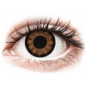 Maxvue Vision Lentes de Contacto BigEyes Marrom Sexy Brown com correção - ColourVUE