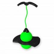 Zoingo Boingo - Mingea flexibila cu maner Verde
