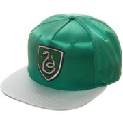Bioworld Harry Potter Snap Back Cap Slytherin Crest Satin