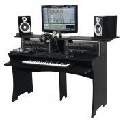 Glorious Workbench negro REC/DJ-Workstation