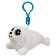 Jucarie Plus cu Breloc 8.5 cm Beanie Boos Icy white seal TY