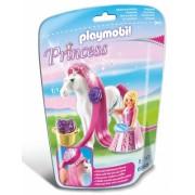 Printesa rosalie cu cal Princess Playmobil