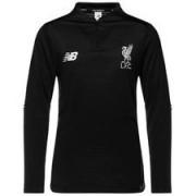 Liverpool Trainingsshirt Midlayer Elite - Zwart/Wit Kinderen