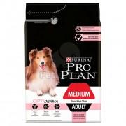Pro Plan Adult Medium Sensitive Skin Optiderma 3 kg