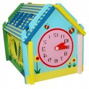 QiQu Wooden Toy Factory Деревянная игрушка QiQu Wooden Toy Factory Логическая игра Домик фигур