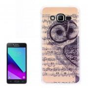 Para Samsung Galaxy J2 Primer / G532 Nota Y Owl Patron Nuevo Caso