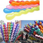 Baloane din latex în formă de spirală