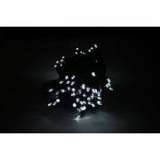 Silamp Guirlande LED 220V 10M IP44 100 LED raccordable (connecteur inclus) - couleur eclairage : Blanc Froid 6000K - 8000K