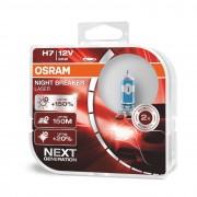 Osram NB Laser NEXT Generation H7 12V 55W +150% autó izzó - 64210NL-HCB - duó csomag
