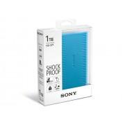 "HDD EXTERNAL 2.5"", 1000GB, Sony, Shock proof, USB3.0, Blue (HD-SP1)"