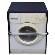Glassiano Transparent Washing Machine Cover For Bosch 6 kg WAB16060IN Fully Automatic Front Loading Washing Machine