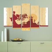 Декоративен панел за стена с японски мотив Vivid Home