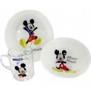 Детский набор 3 предмета Luminarc Disney Mickey Colors L2124