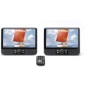 "Lenco MES-403 - 9"" Duo Portable DVD-spelers - Zwart"